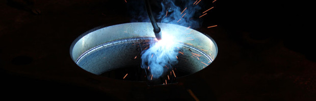 Boretech Welding of Spider to Restore Interior Dimensions to Factory Specifications
