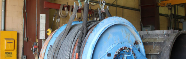 Cable Winch for Roller Coaster, Amusement Park