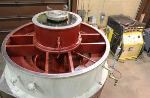 Testing of a 1250HP Westinghouse Motor, Nuclear (cold)