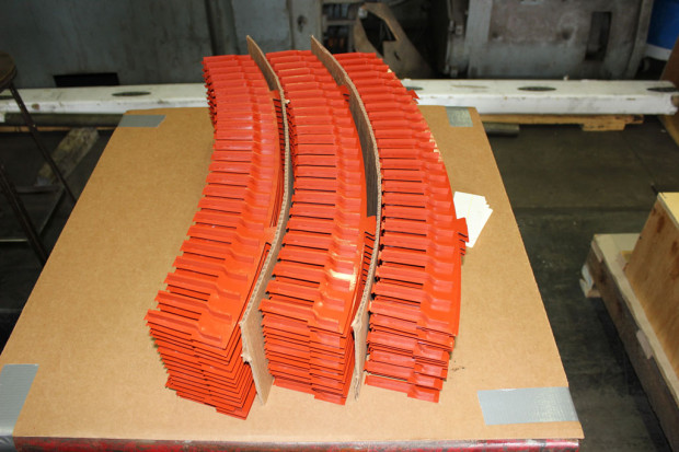 New laser cut vent ducts and finger plates