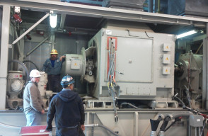 Installation and Laser Alignment of Generator